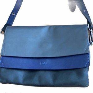 Kooba Hamilton Bold Blue Medium Leather Bag